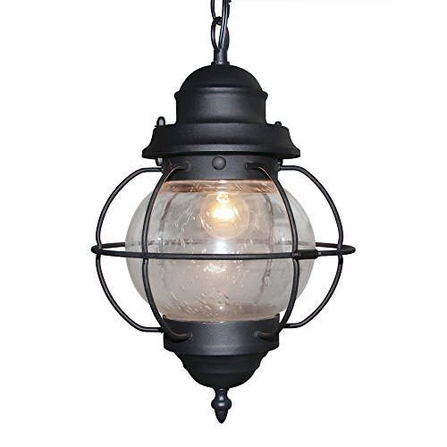 LALUZ Globe Pendant Lighting Outdoor Pendant Lights Aluminum ...