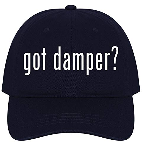 The Town Butler got Damper? - A Nice Comfortable Adjustable Dad Hat Cap, Navy ()