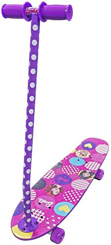 Skateboard For Girls Barbie 2 In 1 Skate Trainer Its A Girls Scooter And Girls Skateboard!