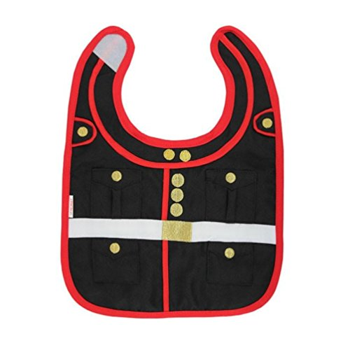 - United States Marine Corps Dress Blues Embroidered Baby Bib