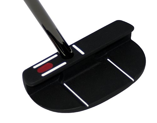 Seemore FGP Black Mallet Putter (Right Hand, 35-Inch), Outdoor Stuffs
