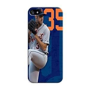 Fashion Popular Mlb Detroit Tigers Team Logo Durable PC Iphone 5/5S Case