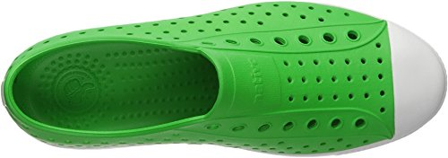 Native Shoes Jefferson Water Shoe, Grasshopper Green/Shell White, 10 Men's M US by Native Shoes (Image #1)