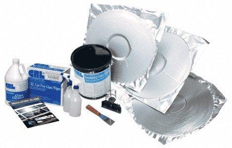 Kit Polyurethane Spacers - C.R. LAURENCE S1GK600 CRL Insulating Glass Polyurethane Starter Kit with Super Spacer