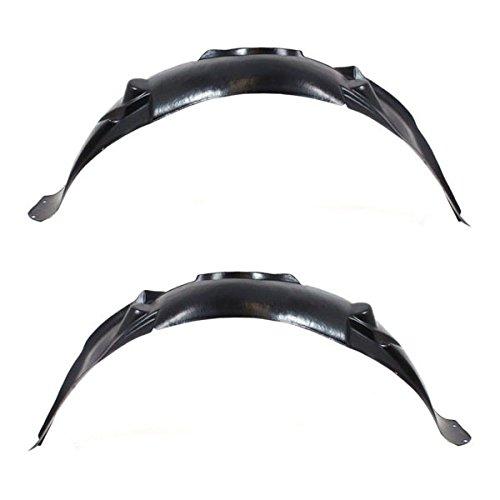 06-16 Chevy Impala Front Splash Shield Inner Fender Liner Left & Right SET PAIR
