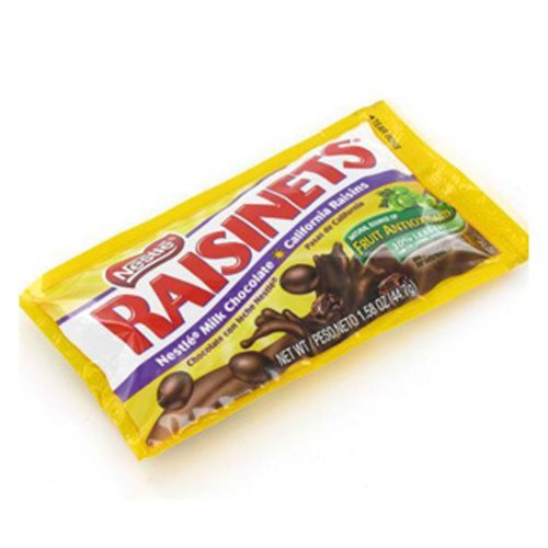 Raisinets Candy Packs 36 Count by The Nutty Fruit House
