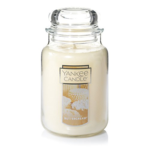 Yankee Candle Large Jar Candle, Buttercream - 115461Z ()