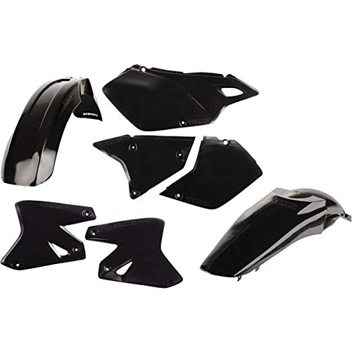Acerbis Replacement Plastic Kit - Black , Material: Plastic 2041080001