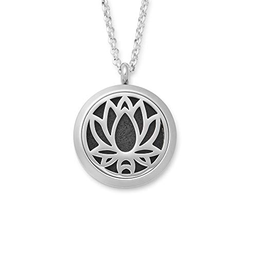 - Eve's Addiction Lotus Flower Essential Oil Diffuser Locket