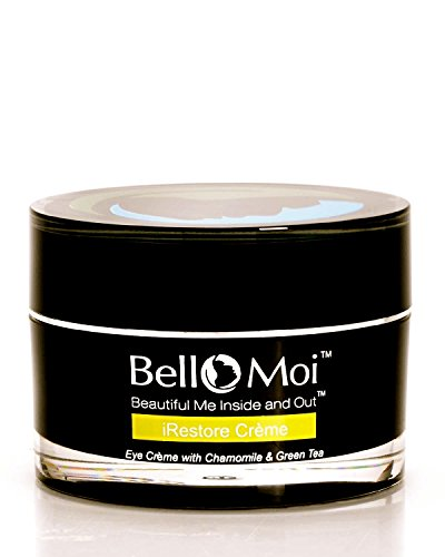 Bello Moi iRestore Creme - Eye Cream with Chamomile & Green Tea & Peptides.