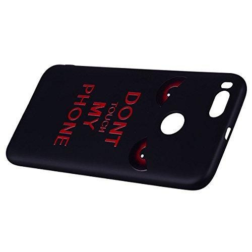 Color del patrón de TPU suave de nuevo caso para Xiaomi Mi A1 [Universal para Xiaomi Mi 5X] ( PATTERN : Red eyes ) Red eyes