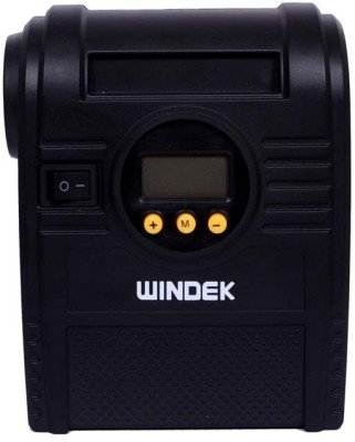 Windek RCP_D08A_1703 Preset Digital Tyre Inflator (Black and Yellow)