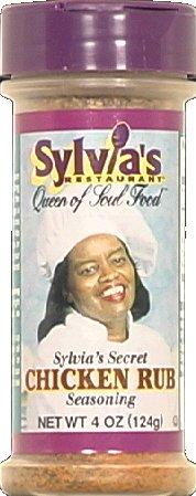 (Sylvia's Seasoning Rub Chicken (Pack of 3))