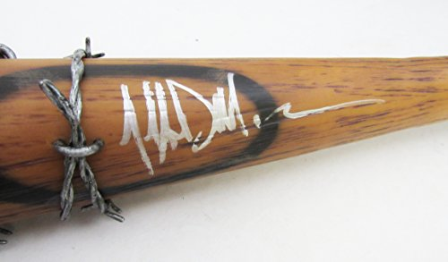 "Jeffrey Dean Morgan Autographed/Signed Negan ""Lucille"" Bat Walking Dead JSA"