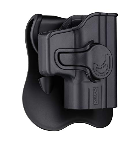 Springfield Armory XD 40 Holster OWB, Outside The Waistband Carry Paddle Holster Fit XD 3