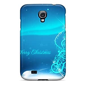 Durable Protector Case Cover With Merry Christmas Hot Design For Galaxy S4