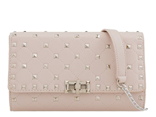 Cross Handbags Women's Cream 2167 LeahWard Body Wedding Wedding Pearl Clutch Bag Evening 1xwx0q