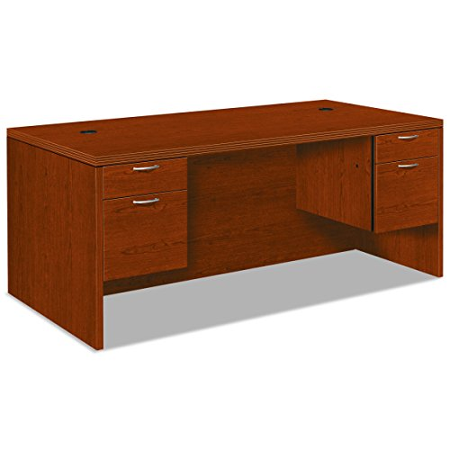 HON 11593ACHH Valido 11500 Series Double Pedestal Rectangle Top Desk, 72