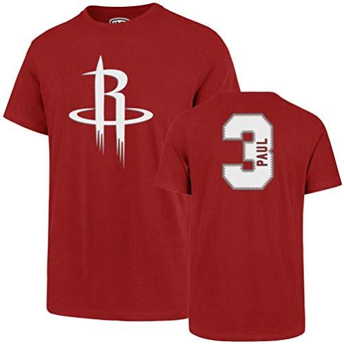 - NBA Houston Rockets Chris Paul Mens Player OTS Rival Teenba Player Rival Tee, Chris Paul - Red, Medium