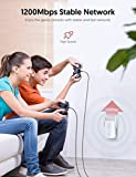 Victure 1200mbps WiFi Range Extender, 2.4G&5G Dual