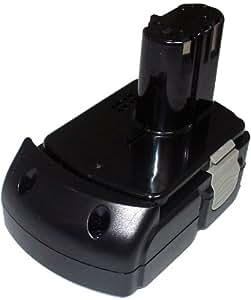 PowerSmart® 18.V 1500mAh Li-ion Battery for HITACHI C 18DLX, CJ 18DL, CJ 18DLX, CR 18DL, CR 18DLX, DH 18DL, DH 18DLX, DS 18DFL, DS 18DFLG, DS 18DL, DV 18DCL, DV 18DL, G 18DLX, RB 18DL, WH 18DFL, WH 18DL,WR 18DL,Compatible P/N: BCL1815,EBM 1830