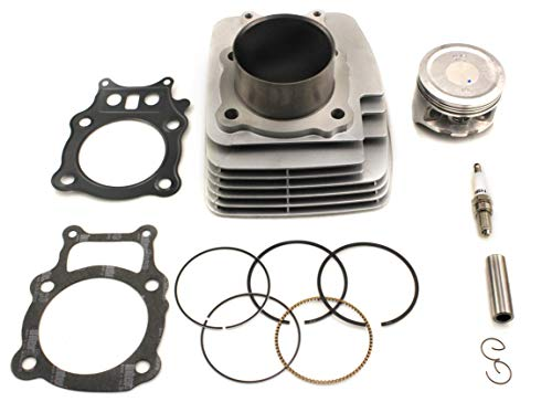 Cylinder Piston Gasket Kit Fit For Honda Rancher TRX350 ATV Direct Replacement 2000-2006