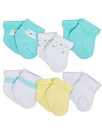 Gerber unisex-baby 6-pack Wiggle-proof Socks baby-unisex-hosiery