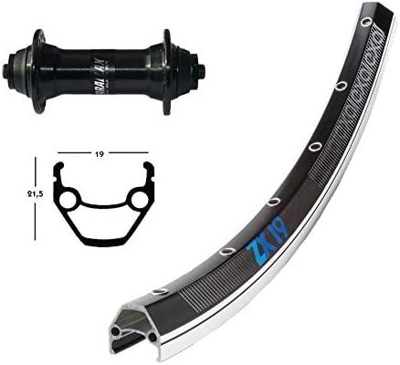 Bike-Parts Unisex - Bicicleta de Adulto -2146060700, Color Negro/Plateado, Talla única: Amazon.es: Deportes y aire libre