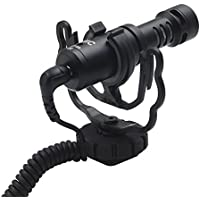 Gigibon On Camera Microphone, Shotgun Mic for Canon, Nikon DSLR Cameras and Camcorders, Good for Photography Interview Video, No Battery Required