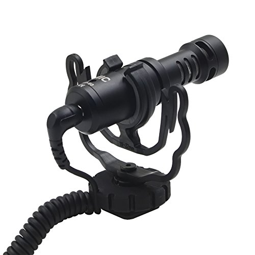 Gigibon On Camera Microphone, Shotgun Mic for Canon, Nikon DSLR Cameras and Camcorders, Good for Photography Interview Video, No Battery Required by Gigibon