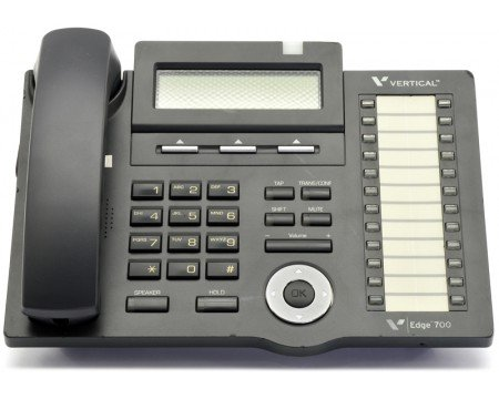 (Vertical Communications Edge 700 24 Button Phone - Part Number VW-E700-24B by Vertical Communications (Renewed))
