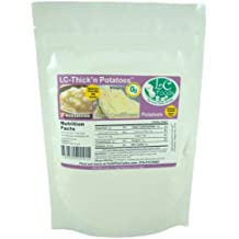 Low Carb Thick'n Potatoes (Thickener) - LC Foods - All Natural - Gluten Free - No Sugar - Diabetic Friendly - 4 oz