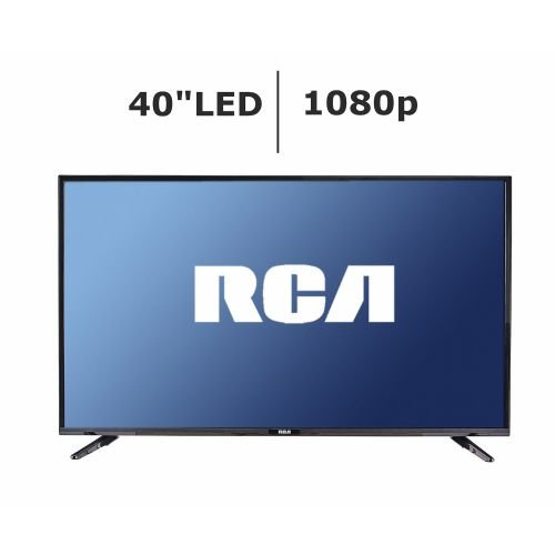 "RCA LED40E45RH 40"" LED HDTV with Remote 1080p HDMI..."