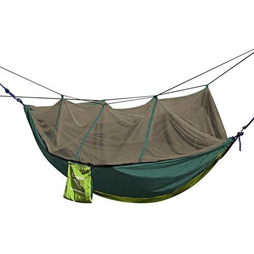 OUTAD Portable Parachute Nylon Fabric Travel Mosquito Net Camping Hammock