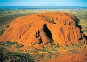 Uluru National Park - 500 Piece Mini Puzzle Australia Uluru-kata Tjuta National Park