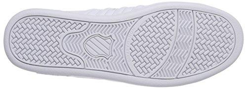 K-swiss Lozan Iii Zapatillas para Hombre Blanco (Blanco/Red 119)