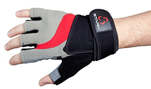 Best Weightlifting Gloves - Bodybuilding, Crossfit, P90x, Workout Gloves for Men & Women - Cross Training Gloves W. Wrist Strap Wrap for Heavy Lifting - No Hassle Replacement Guarantee (Black, Medium)
