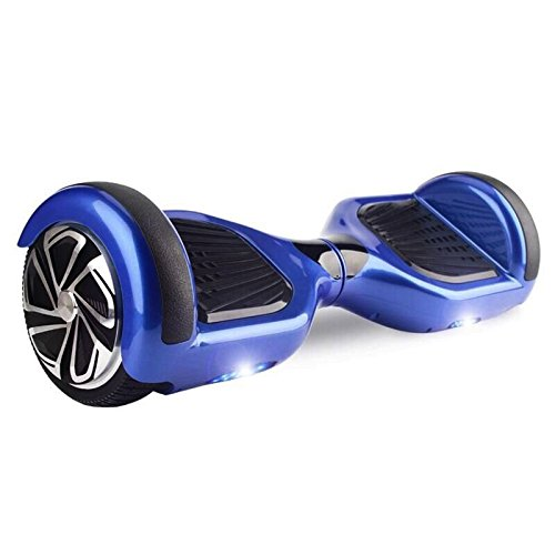 Hoverboard UL 2272 Certified 6.5″ with LED Lights Self Balancing Wheel Electric Scooter Free Carrying Bag – Blue