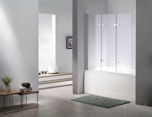 Vidrio Mampara De Seattle bañera plegable pared ducha pared bañera ...
