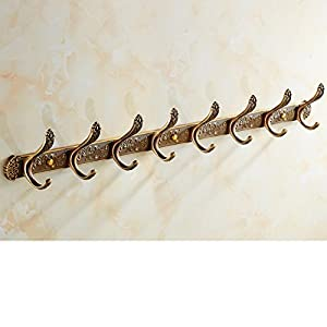 well-wreapped European-style hooks/Antique coat hooks/ door coat hooks/Linked to the bathroom wall/ wardrobe gig-U
