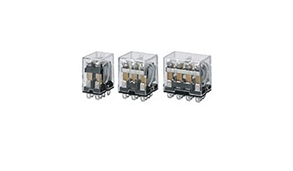 36.9 mA Rated Load Current 24 VDC Rated Load Voltage LY2Z-0 DC24 Standard Type Omron LY2Z-0-DC24 General Purpose Relay Double Pole Double Throw Contacts Standard Bracket Mounting PCB Terminal Bifurcated Contact