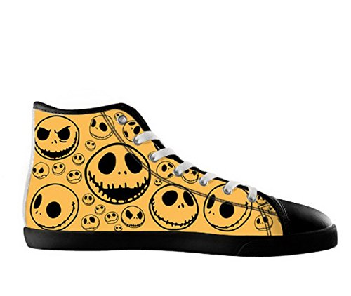 The Nightmare Before Christmas Logoman Halkfria Svarta Kängor Tnbc Canvas Shoes27