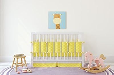 Cute Little Animals Nursery Wall Decor, Baby Kid Room Canvas Art, Great Gift