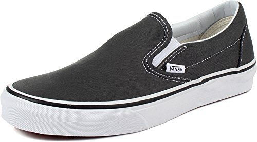 Vans Slip-On(tm) Core Classics, Charcoal (Canvas), Men's 5.5, Women's 7 Medium -