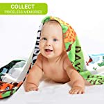 Baby-Monthly-Milestone-Blanket-for-Boys-Girls-Months-Weeks-Days-Photo-Prop-Blanket-Soft-Flannel-Fleece-Decorative-Blanket-100-Wrinkle-Free-Huge-48×40-colored-Newborn-Blanket-Wreath-Marker