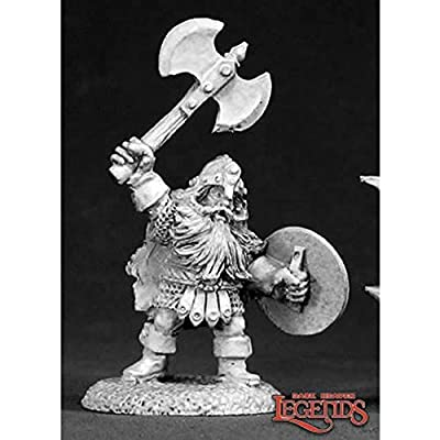 Reaper Miniatures Thorondil Of Kragmar #02301 Dark Heaven Unpainted Metal: Toys & Games