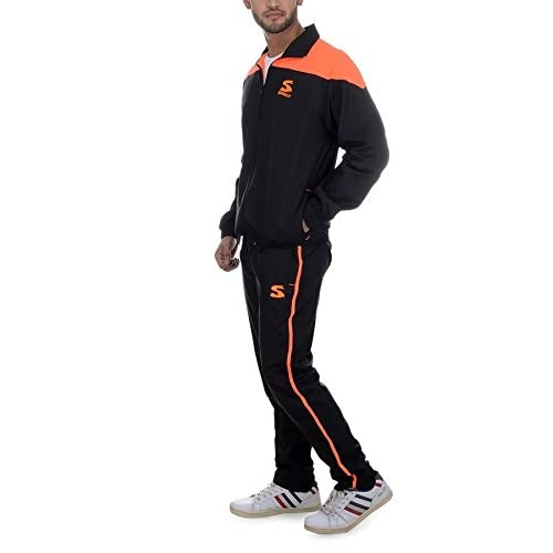 41anGwAeMwL. SS500  - SURLY Men's Polyester Track Suit