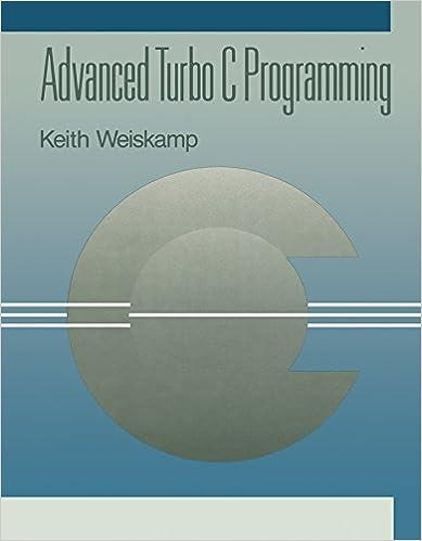 Amazon.com: Advanced Turbo C Programming eBook: Keith Weiskamp: Kindle Store