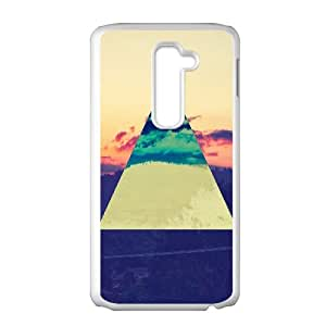 ZK-SXH - Abstract Geometric Triangles Personalized Phone Case for LG G2, Abstract Geometric Triangles Customized Phone Case