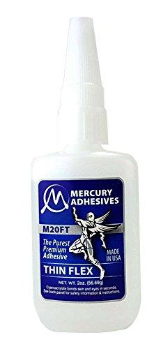 Mercury Adhesives M20FT FLEX 2oz (thin FLEX CA)